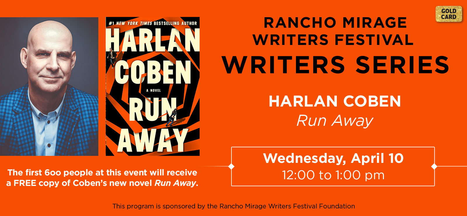 Rancho Mirage Writers Series